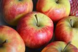 Close-up van verse appels appels poster