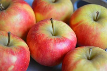 Close-up van verse appels appels