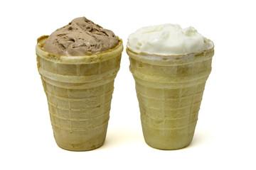 Two horns ice cream