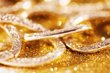 gold jewelery luxury background