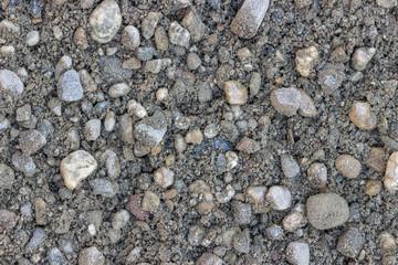 Cement gravel background