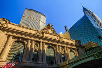 The Grand Central Station in New York City