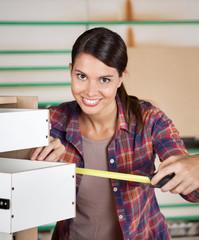 Carpenter Measuring Drawer With Measure Tape