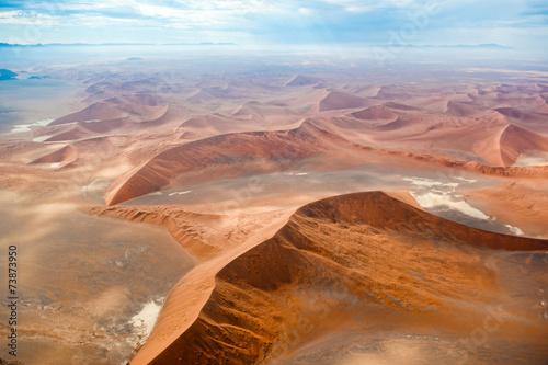 Fotobehang Woestijn Sossusvlei, deserto della Namibia, Africa