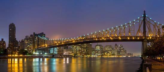 Queen Bridge, New York skyline