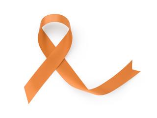 orange awarness ribbon