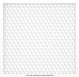 White pattern fabric seamless soft background.