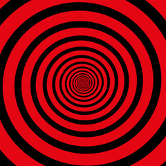 Red Black Spiral