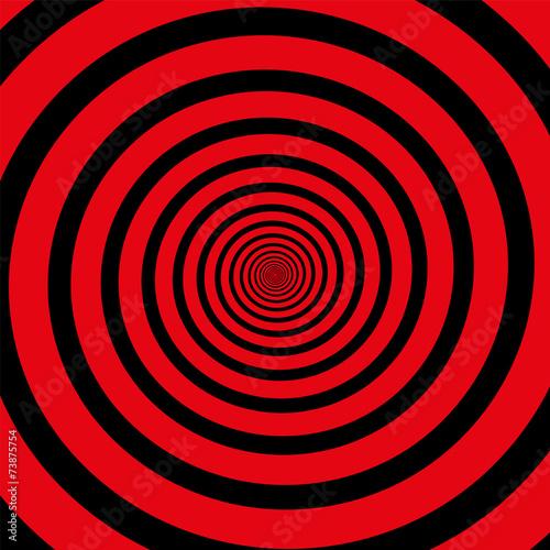 Red Black Spiral - 73875754