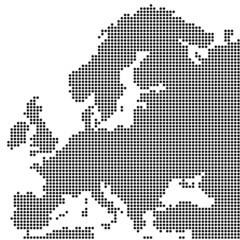 Europa gepunktet