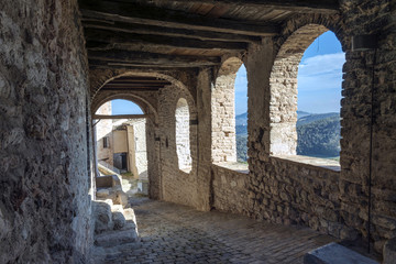 Ancient village central Italy , art, culture and architecture