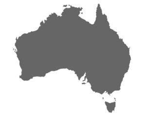 Australien in Grau