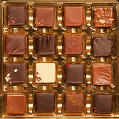 Box of Handmade Luxury Chocolates