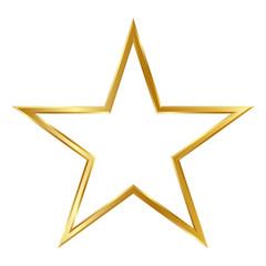 Stern, Goldstern, Rahmen, Rand, Kontur, Klassiker, klassisch, 3D