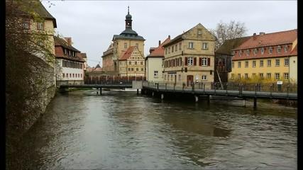 Timelapse Bamberg Rathaus Blick 01