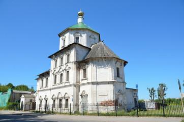 Тверь, церковь Бориса и Глеба, на реставрации