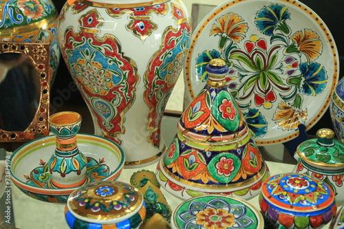Staande foto Algerije Artisanat Algérien