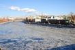 Moscow Kremlin in winter. UNESCO World Heritage SIte.