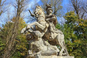 Monument of  King John III Sobieski in Warsaw, Agrykola street