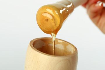 Honey dipper .