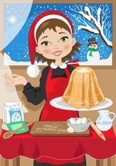 Pandoro-Italian Christmas Cake