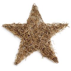 rustic christmas star