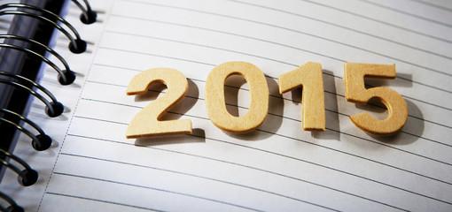 2015 agenda de nouvelle année