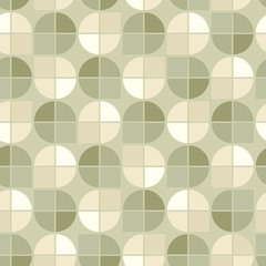Vector geometric background, neutral spherical abstract seamless