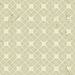 Vintage floral seamless pattern, neutral geometric abstract back
