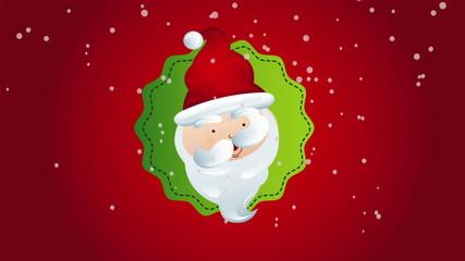 Santa christmas, Video Animation, HD 1080