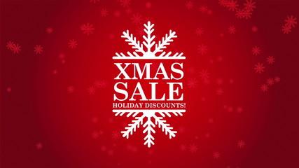Christmas sale, Video Animation, HD 1080