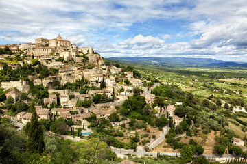 Medieval town of Gordes at the Provence