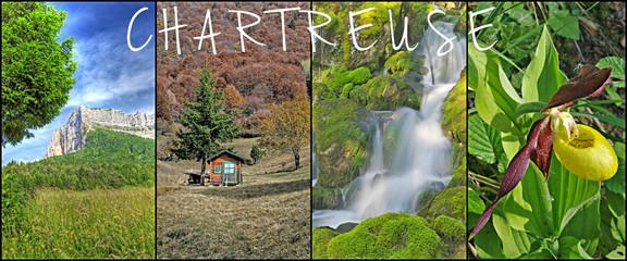 paysages de chartreuse - triptyque