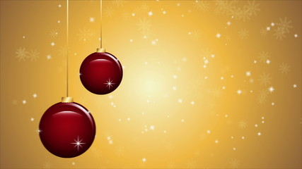 Christmas background animation