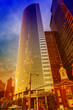 Beautiful view of the skyscraper in New York City