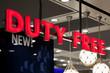 Duty Free Shop Sign - 73887132
