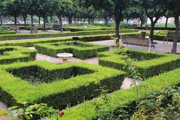Malaga city park (Spain)