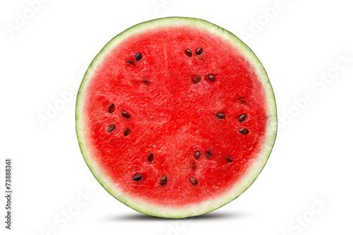 Fotobehang Vruchten Sliced Watermelon