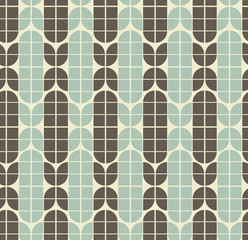 Vector neutral geometric background, ornament abstract seamless