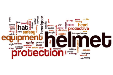 Helmet word cloud