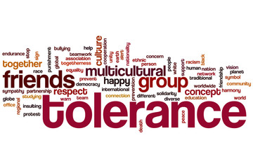 Tolerance word cloud