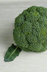 broccoli, close up
