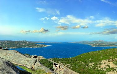 Granite coast near Palau, northern Sardinia, Italy