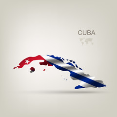 Flag of Cuba as a country