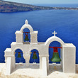 Santorini architectural details, Greece
