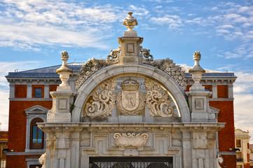 Parque del Retiro, Madrid, Puerta de Felipe IV