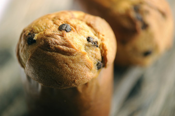 Panettone close-up