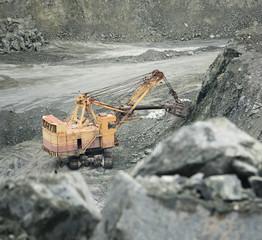 excavator extracts