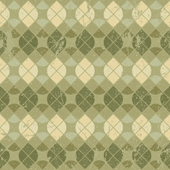 Vintage floral decorative seamless pattern, geometric abstract b