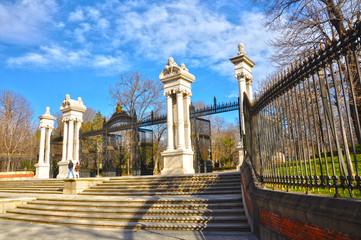 Madrid, Parque del Retiro, Puerta de España, siglo XIX